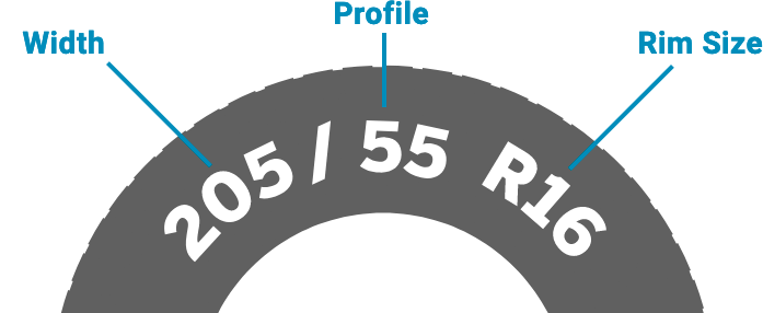 Need help? View our tyre size guide