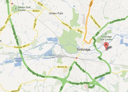 Find Us: Polar Automotive (SnowChains.com) in Tonbridge, near Kent & Sussex Border